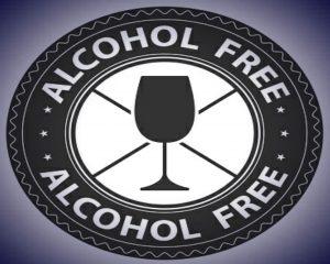 Icono menú sin alcohol